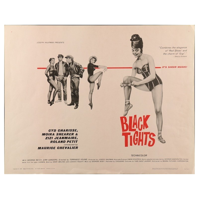 Black Tights - Un deux trois quatre (half sheet)