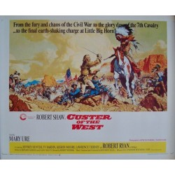 Custer Of The West (half sheet)