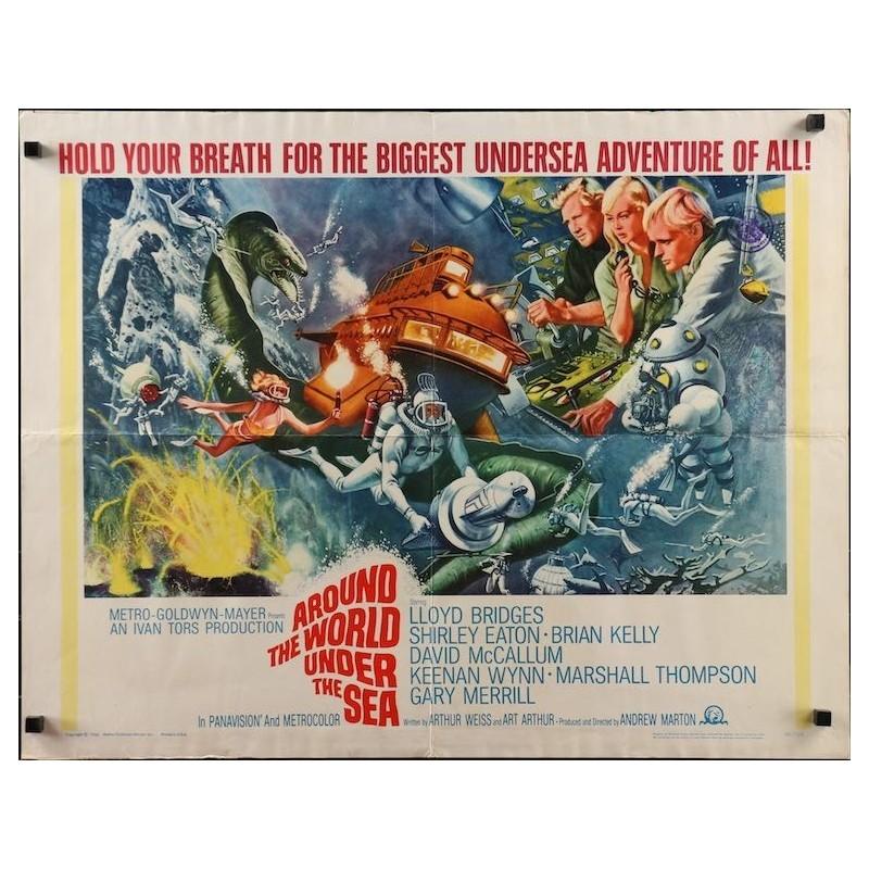 Around The World Under The Sea (half sheet)