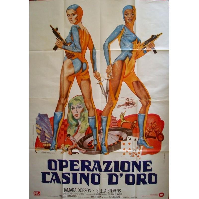 Cleopatra Jones and The Casino Of Gold (Italian 4F)