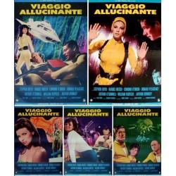 Fantastic Voyage (fotobusta set of 12)