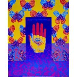 San Francisco Poster 1966-1968 Exhibition Neon Rose 26