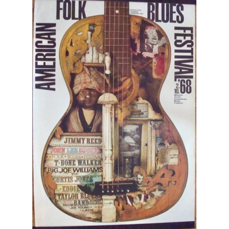 American Folk And Blues Festival 1968 - Frankfurt (A0)
