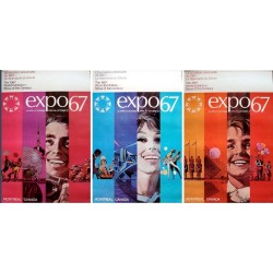 Expo 67 Montreal: Family (set of 3)