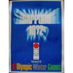 Sapporo 1972 Olympics (Japanese B1 - LB)