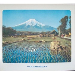 Pan Am Japan - Mount Fuji (1959)