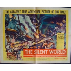 Silent World - le monde du silence (half sheet)