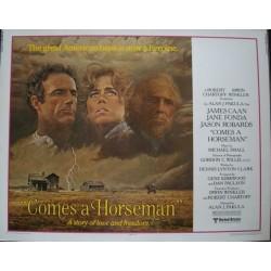 Comes A Horseman (half sheet)