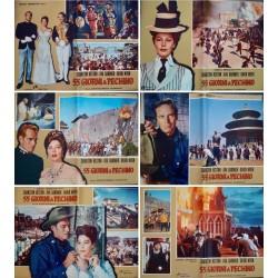 55 Days At Peking (fotobusta set of 12)