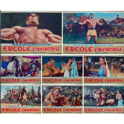Hercules The Invincible (fotobusta set of 8)