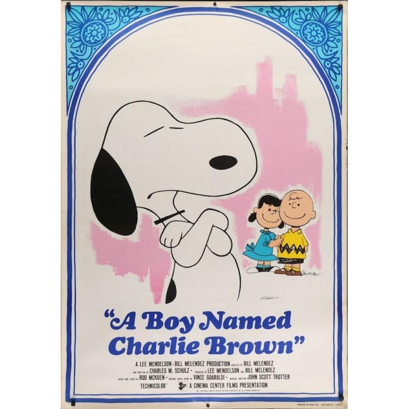Boy Named Charlie Brown (Italian Export)
