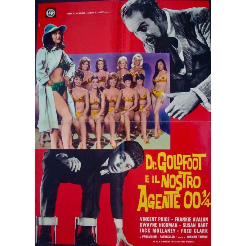 Dr. Goldfoot And The Bikini Machine (Italian 1F)