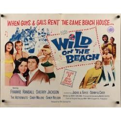 Wild On The Beach (half sheet)
