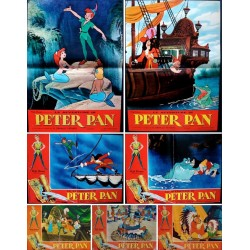 Peter Pan (fotobusta set of 7)