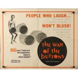 Guerre des boutons (half sheet)