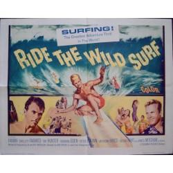 Ride The Wild Surf (half sheet)