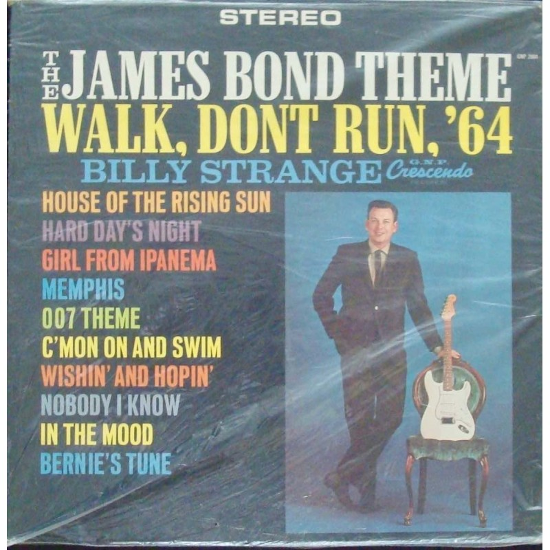 James Bond Theme LP