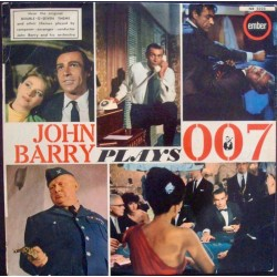 John Barry Plays 007 LP