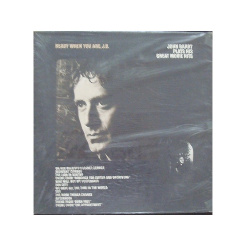 John Barry Plays His Greatest Movie Hits LP