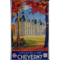 Cheverny - Chateau de la Loire (1946 - LB)