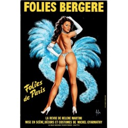 Folies Bergere (1977 Blue small)