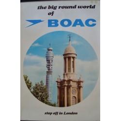 BOAC The Big World - London (1963)
