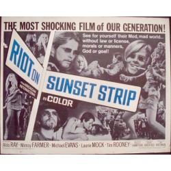 Riot On Sunset Strip (half sheet)