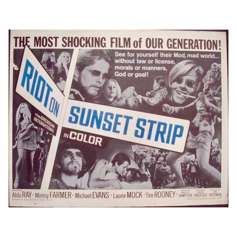 Riot On Sunset Strip (half sheet)