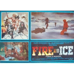 Fire And Ice (fotobusta 2)