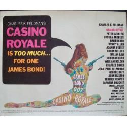Casino Royale (half sheet)