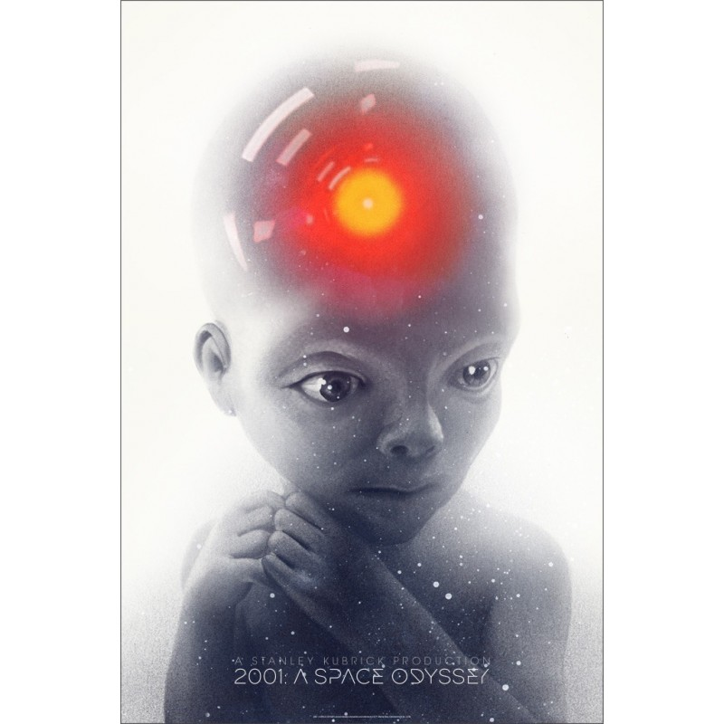 2001 A Space Odyssey (Mondo R18)