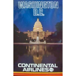 Continental Airlines: Washington DC (1972)