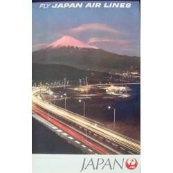Japan Airlines Mount Fuji (1970)