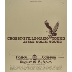 Crosby Stills Nash & Young - Nassau Coliseum 1974