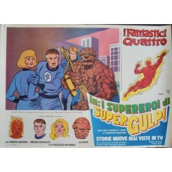 Supergulp: Fantastic Four (fotobusta 1)