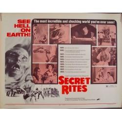Secret Rites (half sheet)