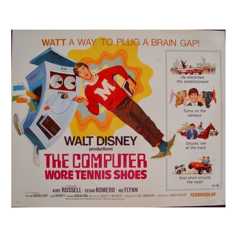 Computer Wore Tennis Shoes (half sheet)