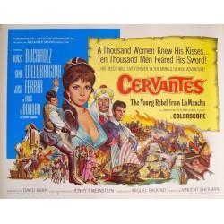 Cervantes (half sheet)