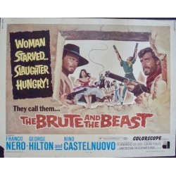 Brute And The Beast (half sheet)