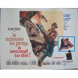 Minute To Pray A Second To Die (half sheet)