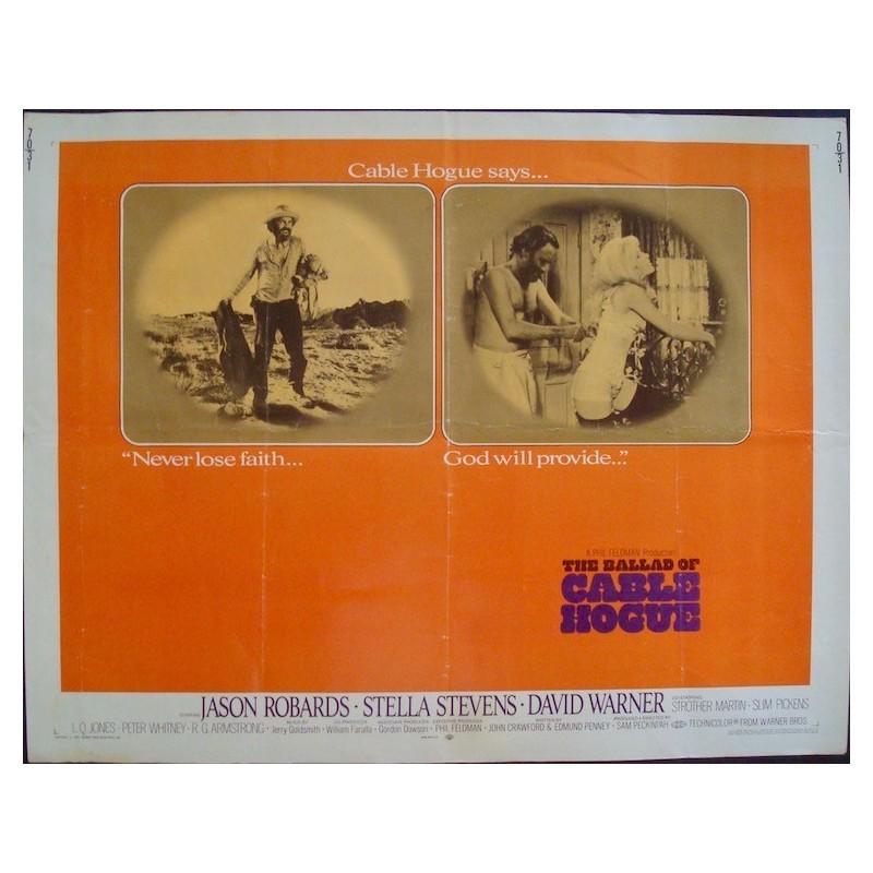 Ballad Of Cable Hogue (half sheet)