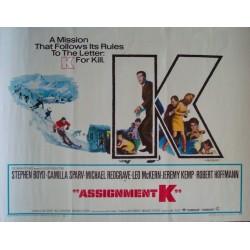 Assignment K (half sheet)