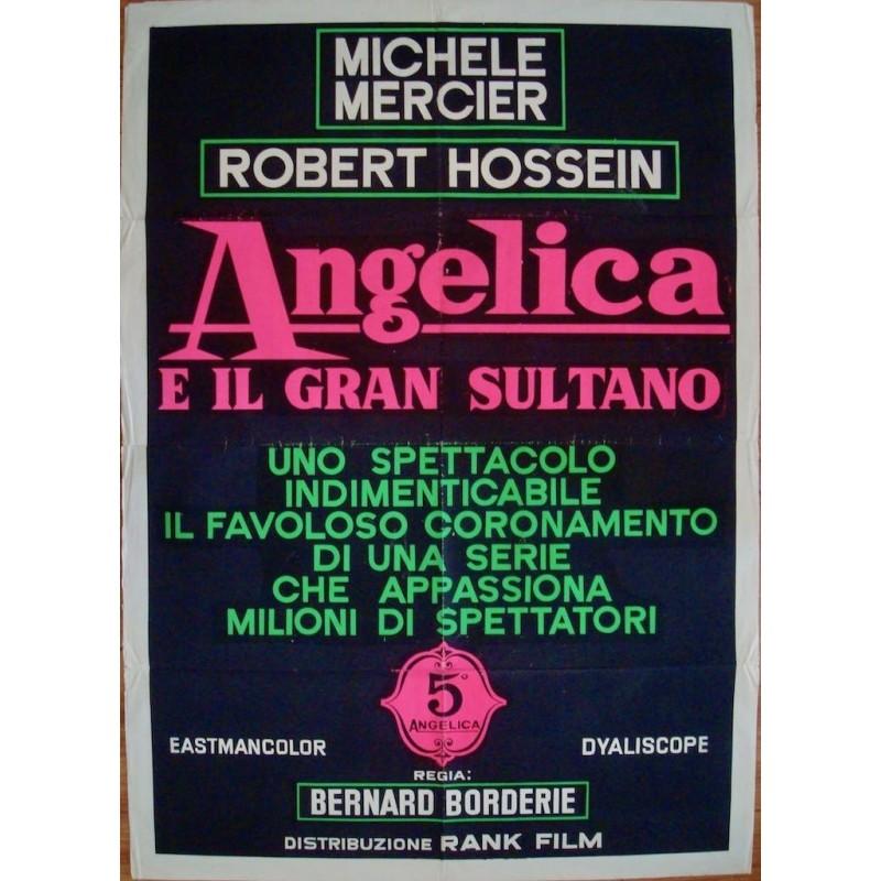 Angelique et le sultan (Italian 2F Dayglo)