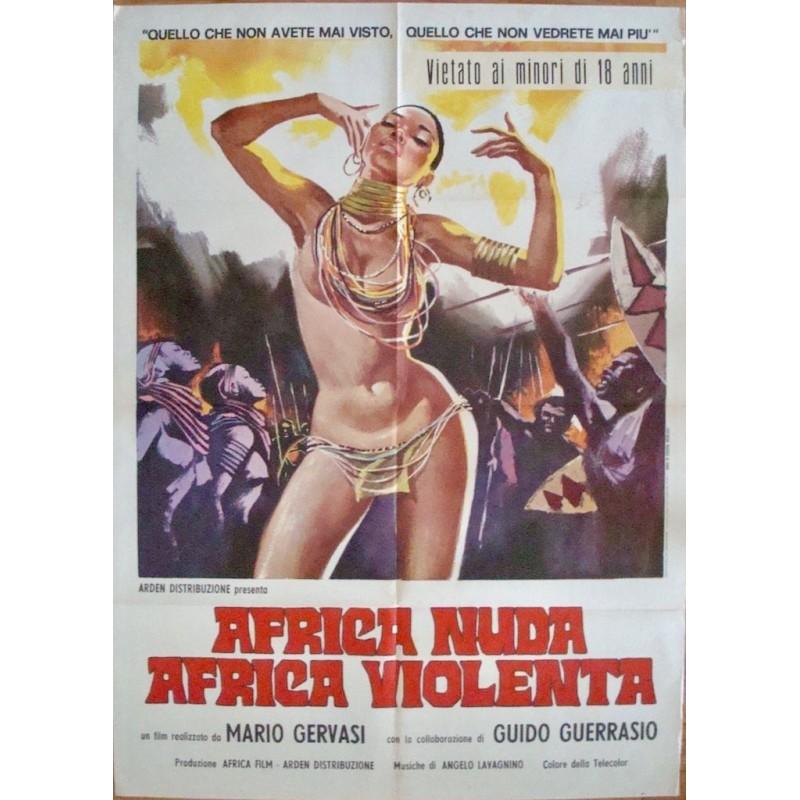 Africa nuda Africa violenta (Italian 2F)