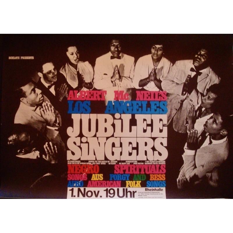 Jubilee Singers - Dusseldorf 1965