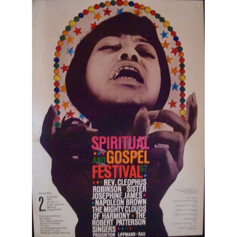Spiritual and Gospel Festival - Marburg 1967
