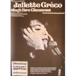 Juliette Greco - Berlin 1973
