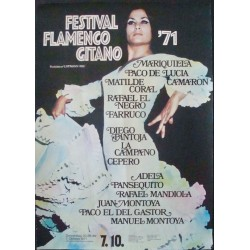 Flamenco Gitano Festival - Frankfurt 1971