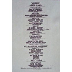 BGP 1972: Elton John (Handbill)