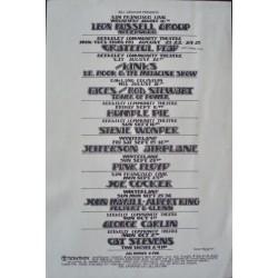 BGP 1972: Stevie Wonder (Handbill)